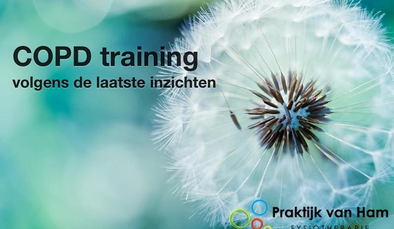 COPD training volgens de laatste inzichten in Tilburg
